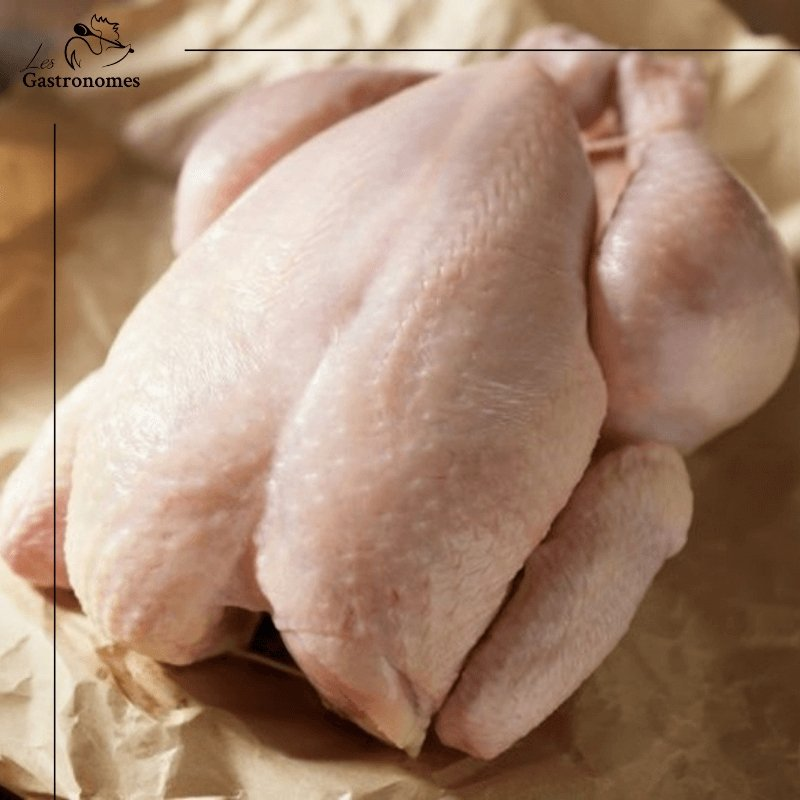Capon Free Range from France - Frozen - Les Gastronomes
