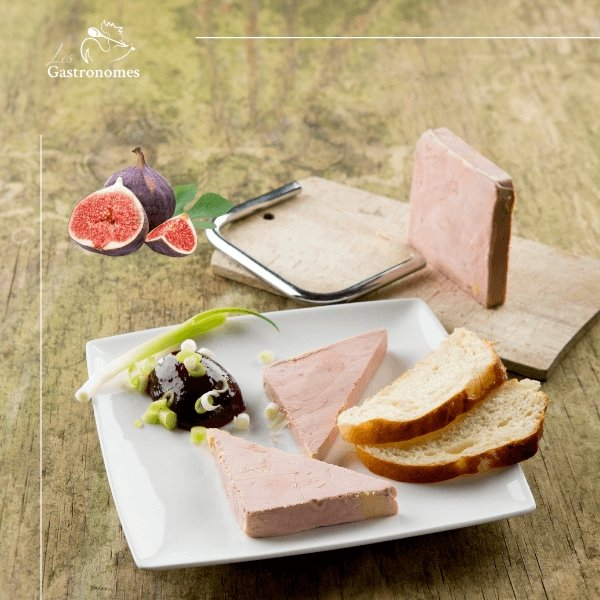 Duck Foie Gras Terrine with Figs - 200g - Les Gastronomes