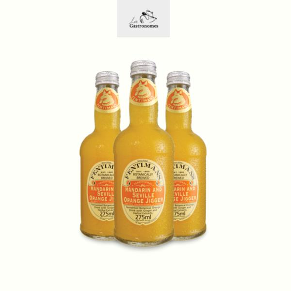 Fentimans Mandarin & Seville Orange Jigger - 12 x 275ml - Les Gastronomes