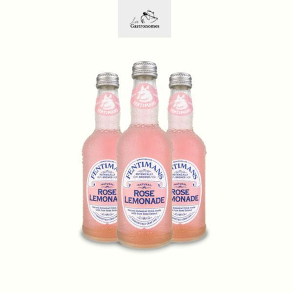 Fentimans Rose Lemonade - 12 x 275ml - Les Gastronomes