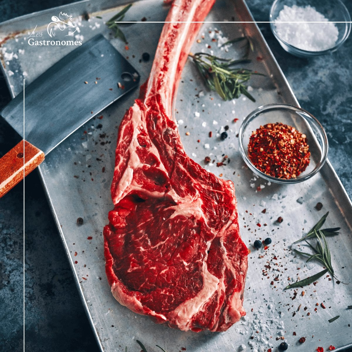 Grass Fed Angus Tomahawk - Les Gastronomes