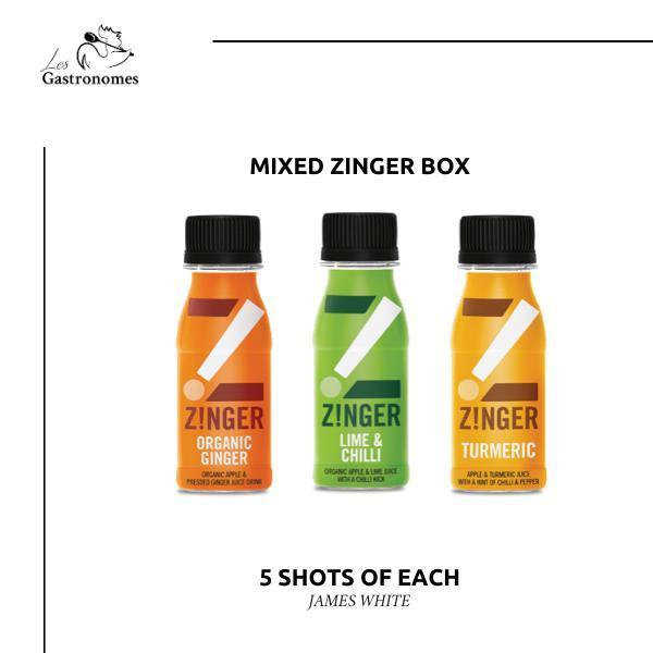 James White Drinks Zinger Shots 15 x 70ml - Les Gastronomes