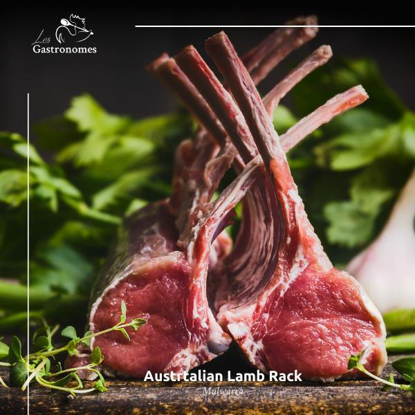 Mulwarra: Lamb Rack Frenched - Les Gastronomes