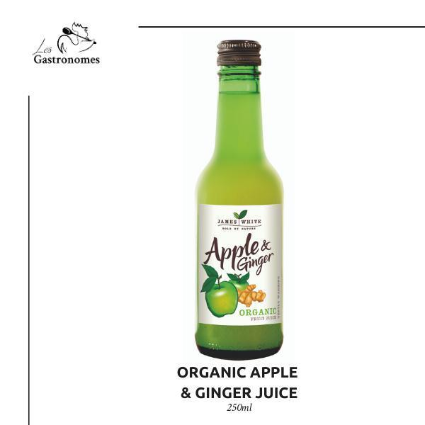Organic Apple & Ginger Juice 250 ml - Les Gastronomes