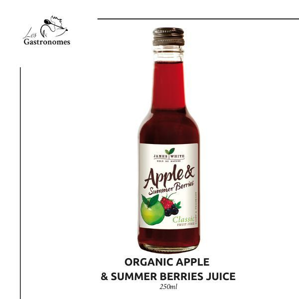Organic Apple & Summer Berries Juice 250 ml - Les Gastronomes