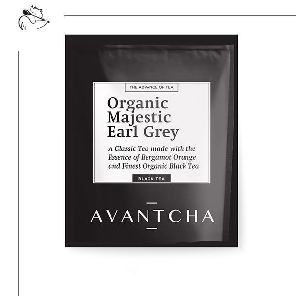 Organic Majestic Earl Grey - Les Gastronomes