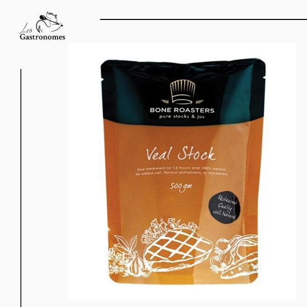 Sauce: Veal Stock 500 g | Halal Certified - Les Gastronomes