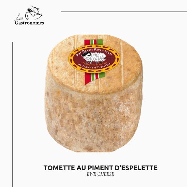 Tommette with Espelette Pepper-French Cheese-Les Gastronomes