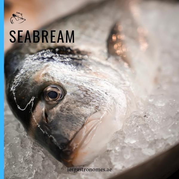 Wild Royal Seabream - Daurade Royale Sauvage - 1.1Kg - Les Gastronomes