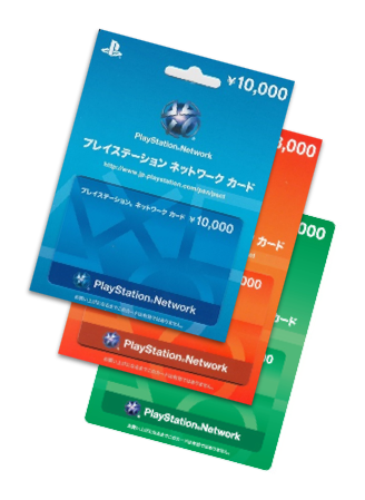 Japanese PSN cards