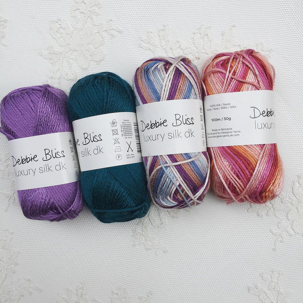 Debbie Bliss Luxury Silk DK Collection