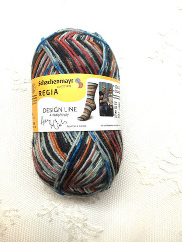 Regia Design Line Collection Arne & Carlos #regiayarns #schachenmayr #sockyarn