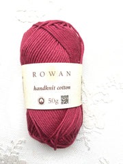 Rowan Handknit Cotton 356 Rapsberry