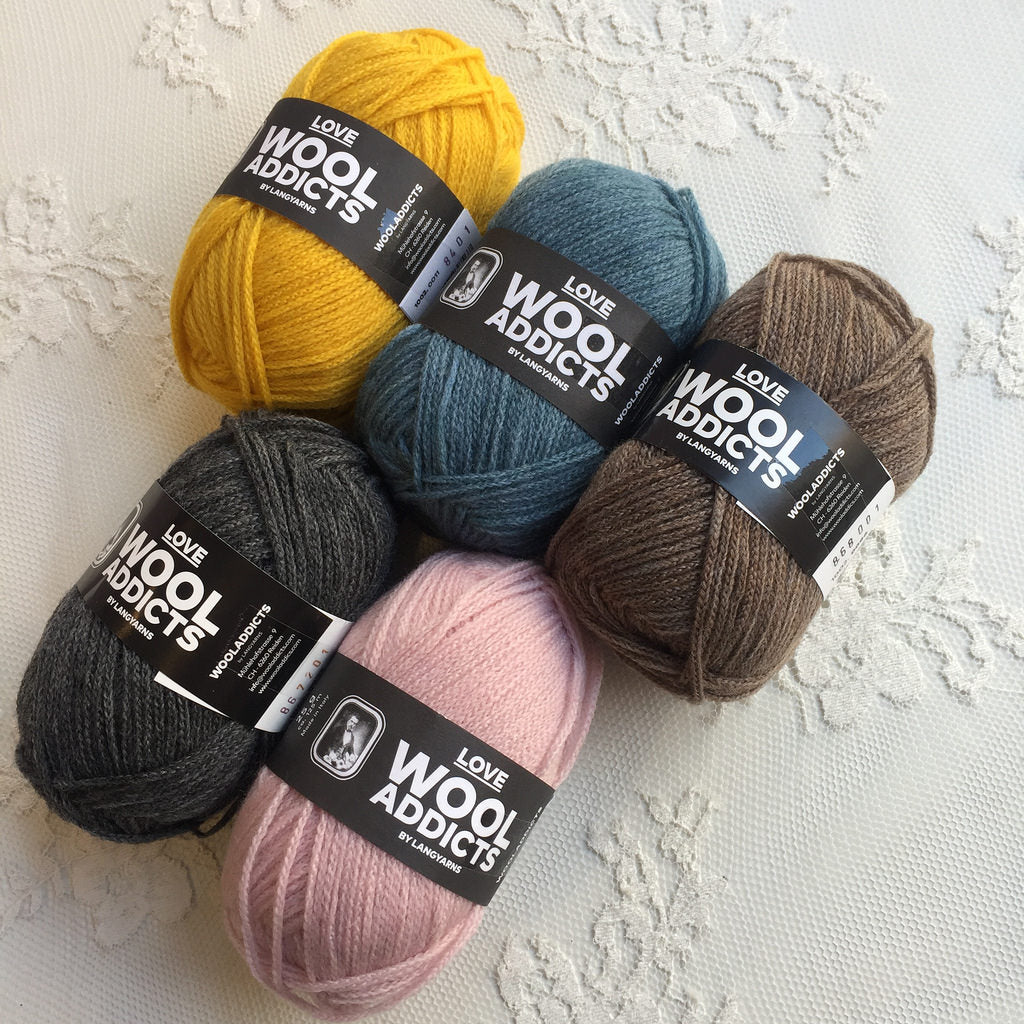 Lang Yarns Wool Addicts Love