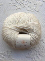 Rowan Fine Silk 101 Cream