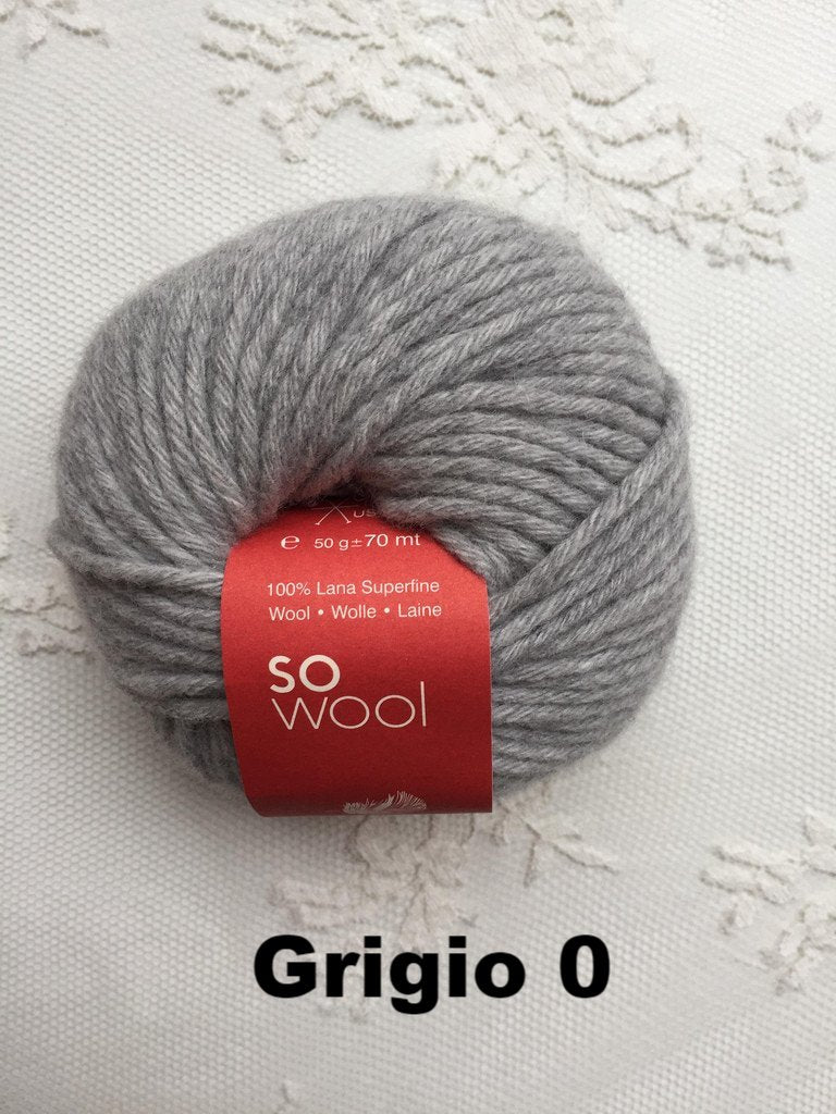 Lanecardate So Wool Grigio 0