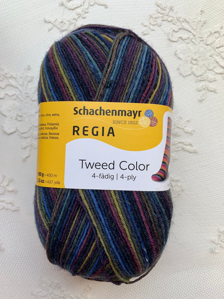 Schachenmayr  Regia Tweed Color 4-fadig 7496