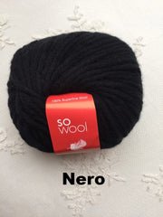 Lanecardate So Wool Nero