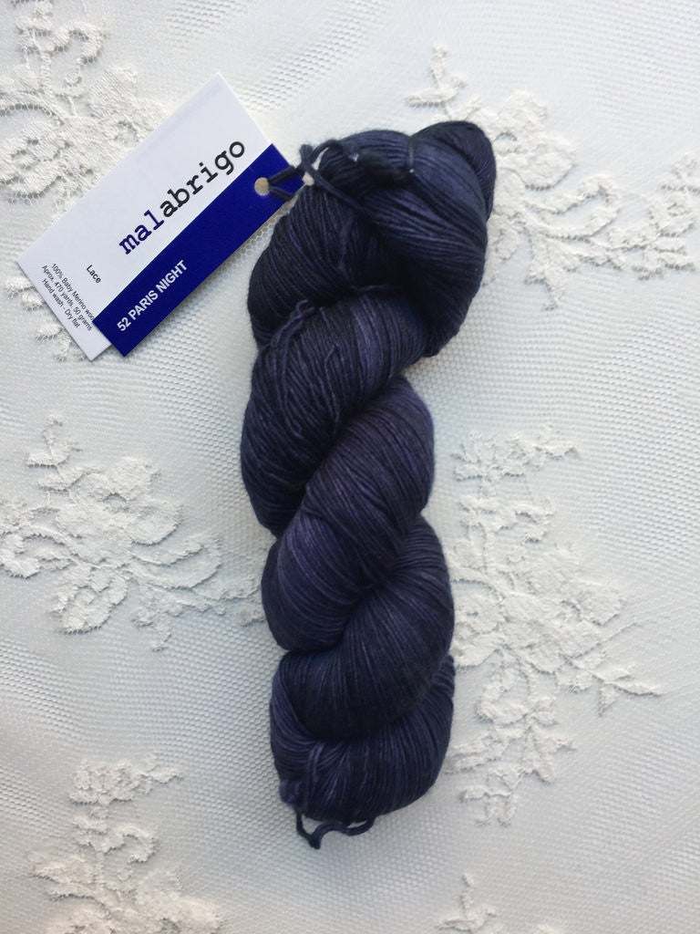 Malabrigo Lace 52 Paris Night