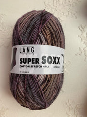 Lang Yarns Super Soxx Cotton Stretch 4ply 26