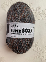 Lang Yarns Super Soxx Cotton Stretch 4ply 29