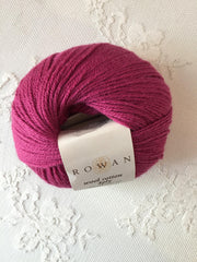 Rowan Wool Cotton 4ply 485 Flower