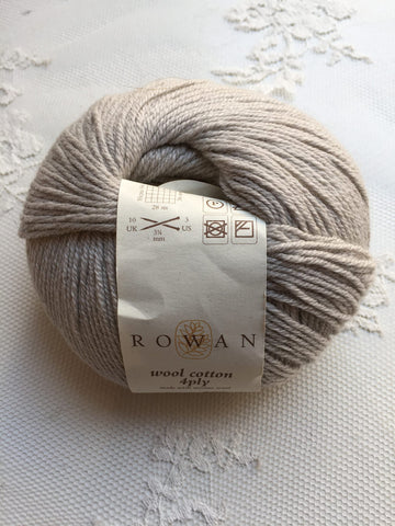Rowan Wool Cotton 4ply