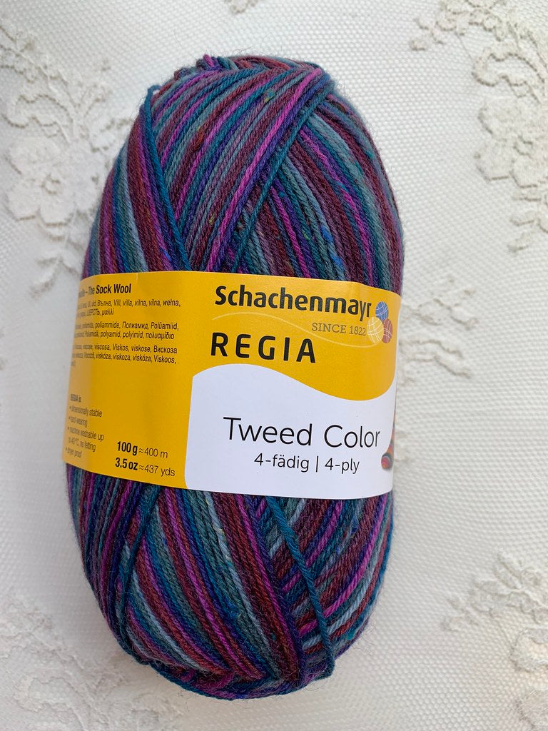Schachenmayr  Regia Tweed Color 4-fadig 7495