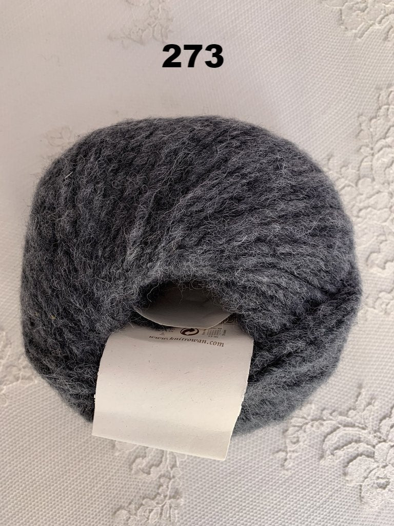 Rowan Brushed Fleece 273 Rock