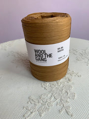 Wool and The Gang Ra-Ra Raffia Tropez Tan