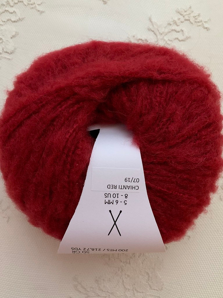 Bettaknit Alpaca Brush Chianti Red