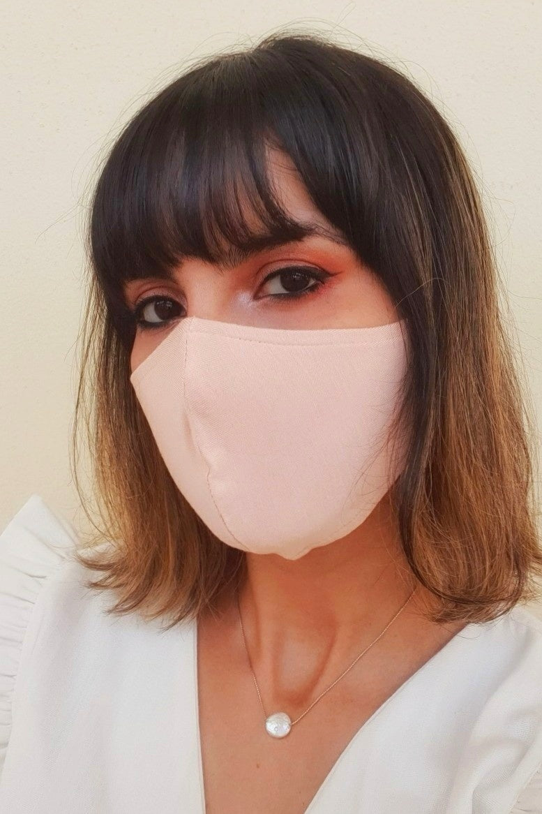 Washable Masks - Rose Quartz