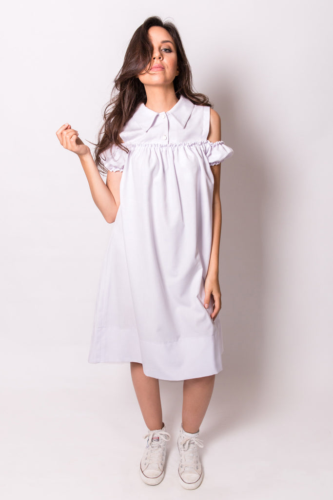 -THE CLOUD DANCER DRESS-