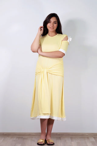 THE SIDE TIE DRESS