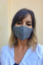 Load image into Gallery viewer, Houndstooth Washable Mask