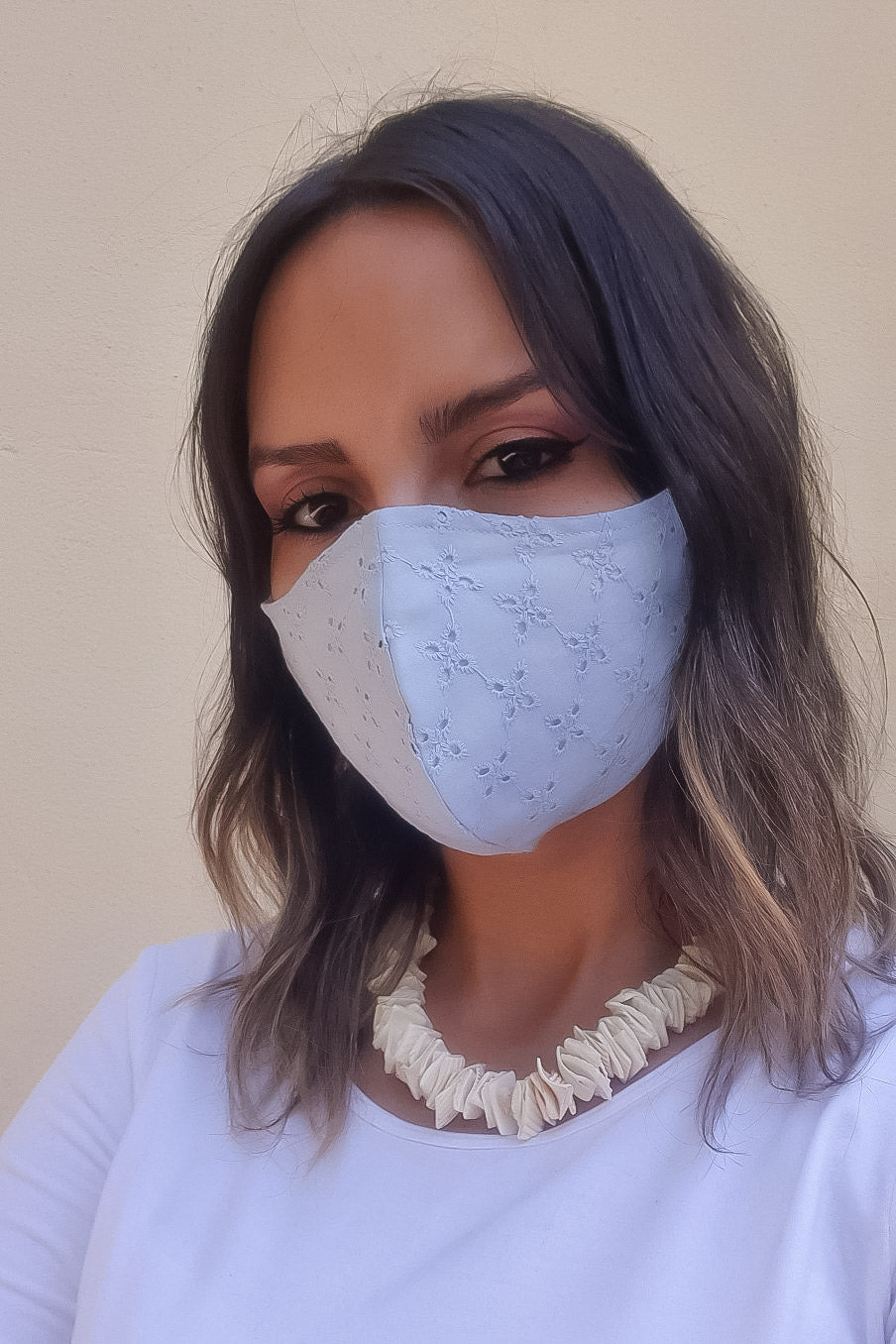 NEW! The Eyelet Mask - Sky