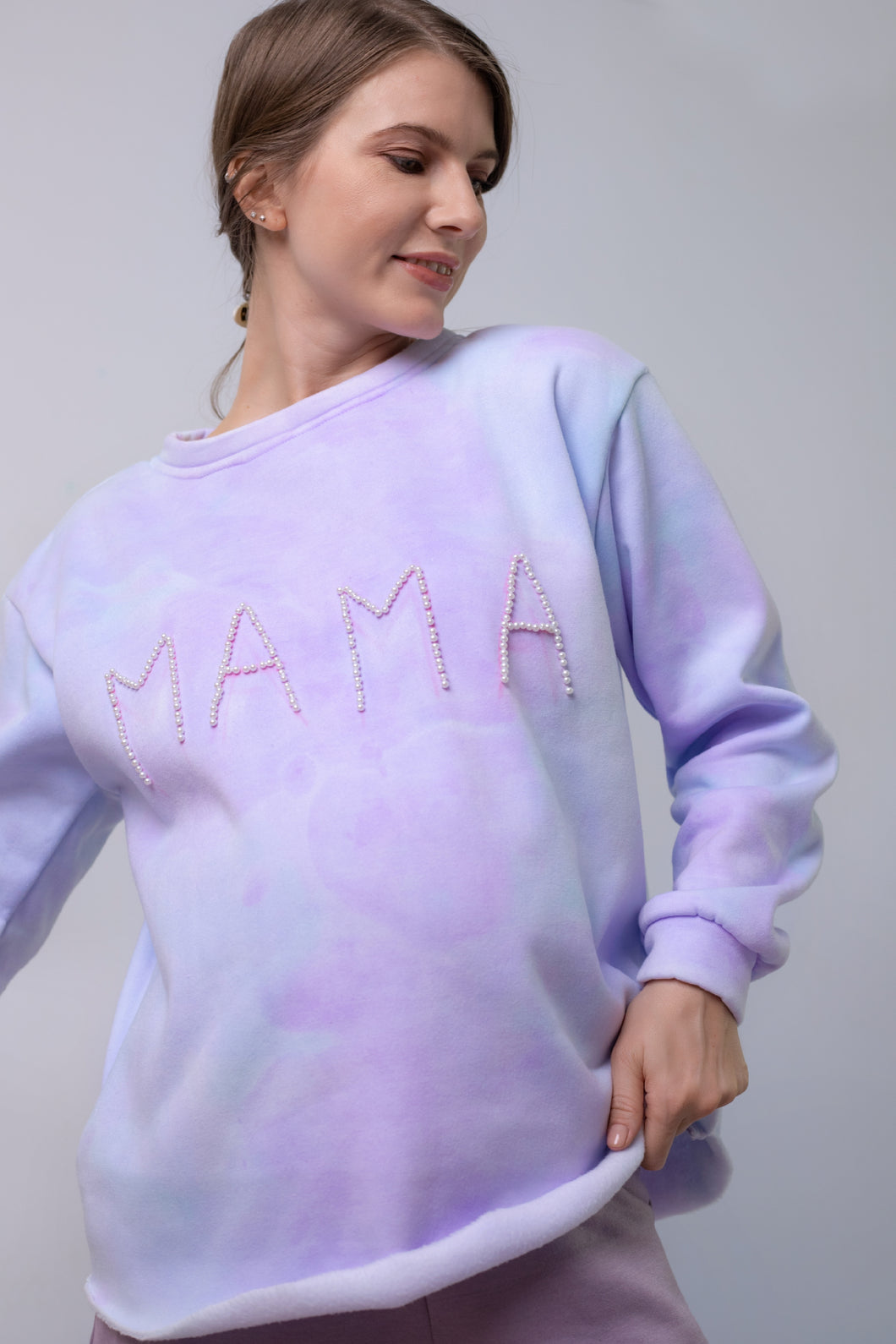 The MAMA Tie Dye Sweat
