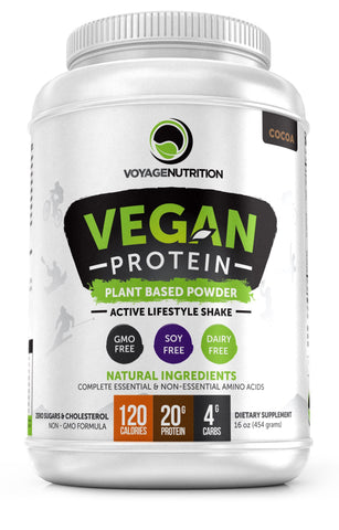 1 Container of Tasty COCOA Vegan Protein