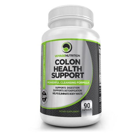 1 Bottle - Colon Health Support - 90 Capsules