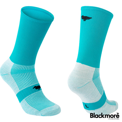 Flo Cyan Socks Twin Pack