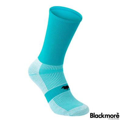 Flo Cyan Duck Socks