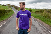 Purple Logo Tee