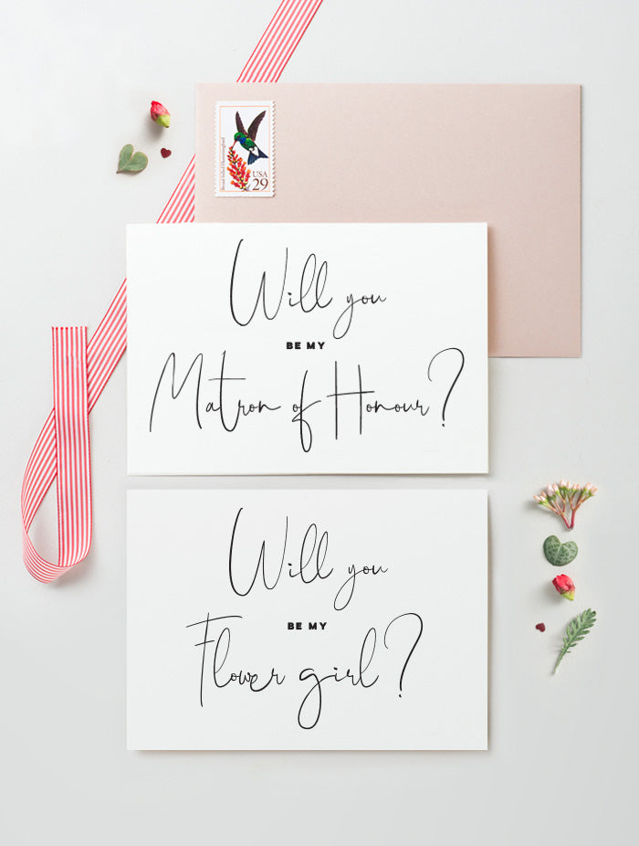 Will You Be My Bridesmaid - Script #B02