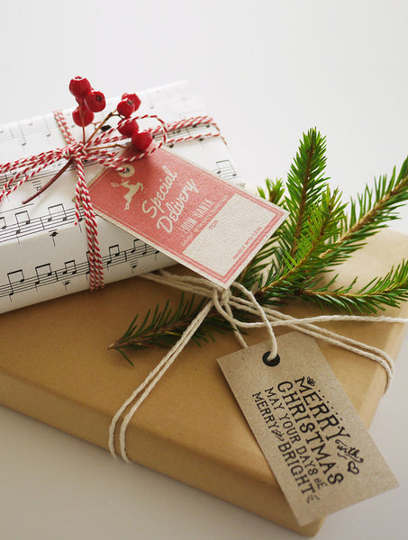 Christmas Gift Tags 02 - Free Download