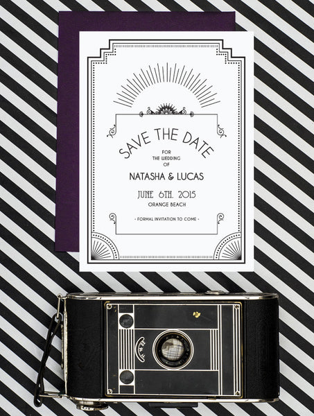 Old Hollywood No. 1 Save The Date