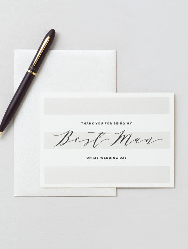 To My Best Man Card