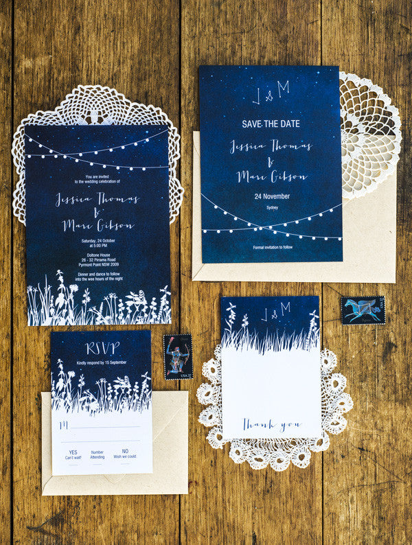 Garden Lights Wedding Set
