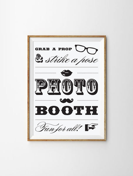 Photobooth Sign - Free Download