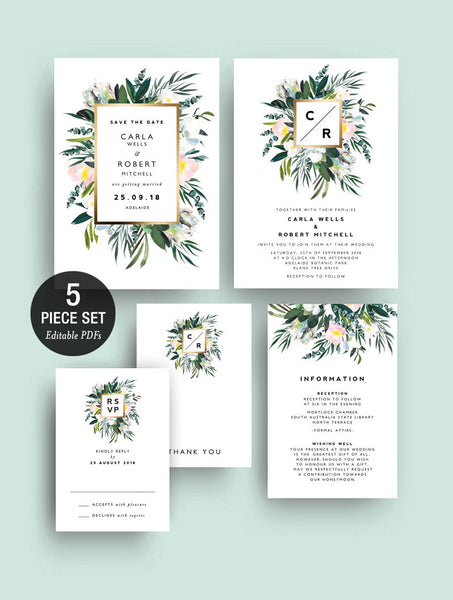 INSTANT DOWNLOAD Protea Greenery