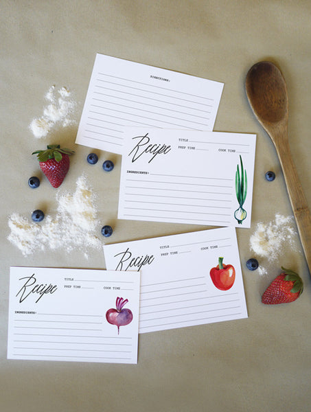Recipe Cards - Free Download